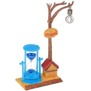 Песочные часы с подсветкой «Ночь во дворе» купить в Минске +375447651009