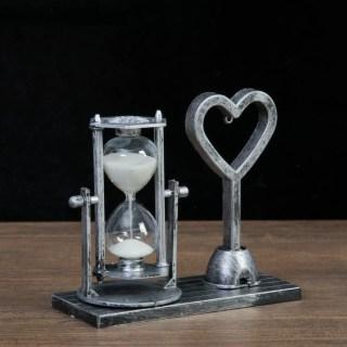 Песочные часы с подсветкой «Сердечко» цвет: микс купить в Минске +375447651009