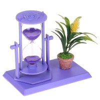 Песочные часы «Violet» с цветком купить в Минске +375447651009