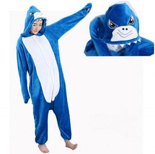 Пижама кигуруми «Акула» детская(140) в Минске +375447651009