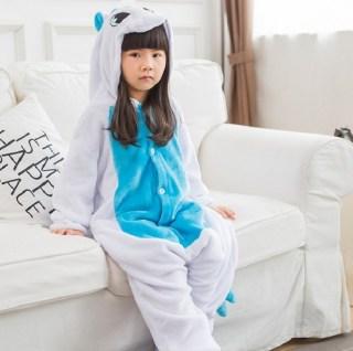 Пижама кигуруми детская «Голубой единорог» купить в Минске +375447651009