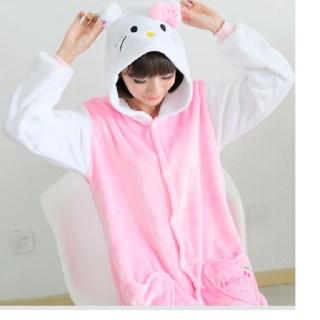 Пижама Кигуруми детская «Hello kitty» купить в Минске +375447651009