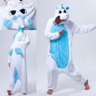 Пижама Кигуруми «Голубой Единорог»  купить в Минске +375447651009