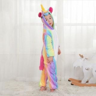 Пижама Кигуруми «Радужный единорог» детская купить в Минске +375447651009