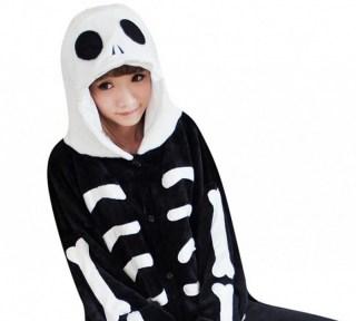 Пижама Кигуруми «Скелет» купить в Минске +375447651009