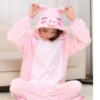 Пижама Кигуруми «Свинка» розовая купить в Минске +375447651009