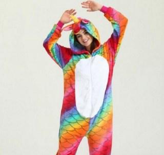 Пижама Кигуруми «Цветной единорог» купить в Минске +375447651009