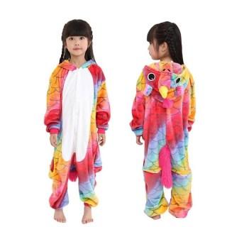 Пижама Кигуруми «Цветной единорог» рост 140 купить в Минске +375447651009