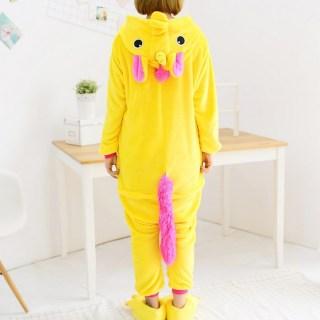 Пижама Кигуруми «Желтый Единорог»  купить в Минске +375447651009