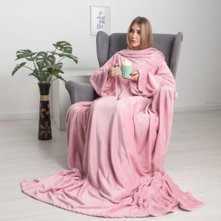 Плед с рукавами «Handy» розовый купить в Минске +375447651009