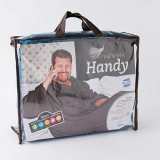 Плед с рукавами «Handy» синий купить в Минске +375447651009