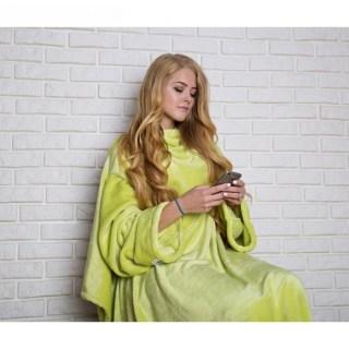 Плед с рукавами «Handy» желтый неон купить в Минске +375447651009