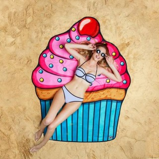 Пляжное покрывало «Пирожное» купить +375447651009