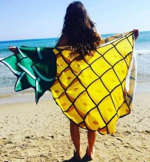 Пляжное покрывало «Ананас» купить +375447651009
