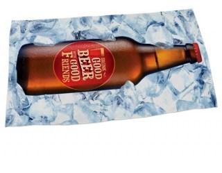 Пляжное покрывало-полотенце «Good beer» купить в Минске +375447651009
