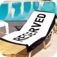 Пляжное покрывало-полотенце «Reserved» купить в Минске +375447651009
