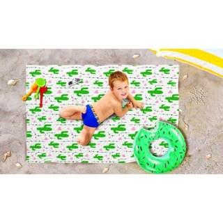 Пляжное покрывало в рюкзаке «Кактусы» 90х140 см купить в Минске +375447651009