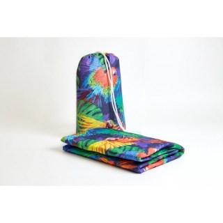 Пляжное покрывало в рюкзаке «Попугаи» 90х140 см купить в Минске +375447651009
