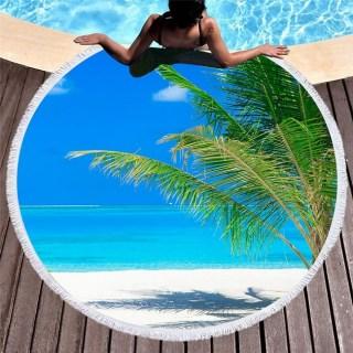 Пляжный коврик «Пальмы, море и песок» купить Минск +375447651009