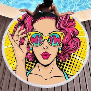 Пляжный коврик «WOW» купить Минск +375447651009