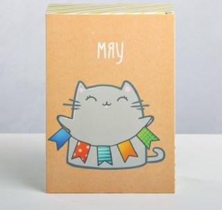 Подарочная коробка «Кот с мороженым» 16 × 23 × 7,5 см купить в Минске +375447651009