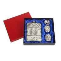 подарочный набор с фляжкой денежный Минск