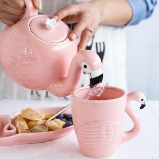 Подарочный чайный набор «Розовый Фламинго» 3 предмета купить в Минске +375447651009