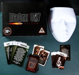 Подарочный игровой набор «Мафия» с масками купить в Минске +375447651009