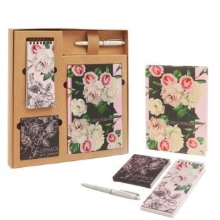 Подарочный канцелярский набор «Розы» купить в Минске +375447651009