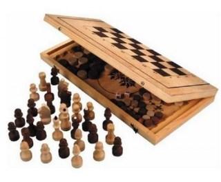 Подарочный набор 3 в 1 «Шахматы, нарды, шашки» купить Минск +375447651009