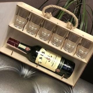 Купить Подарочный набор «Аптечка антистресс» с рюмками в Минске +375447651009