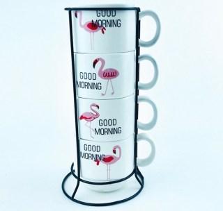 Подарочный набор для чая «Фламинго» купить в Минске +375447651009