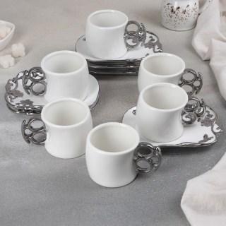 Подарочный набор для чая на 6 персон «Silver» купить в Минске +375447651009
