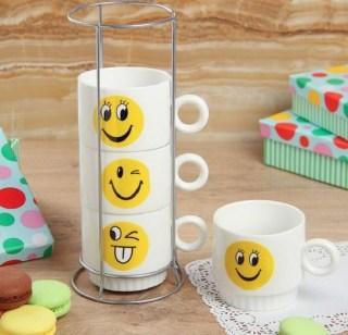 Подарочный набор для чая «Смайлики» купить
