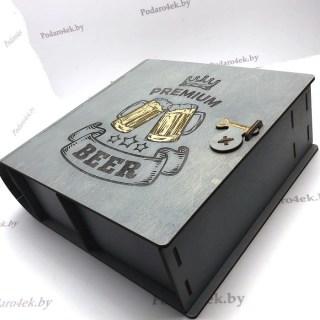 Подарочный набор для пива 4 в 1 «PREMIUM»  купить Минск
