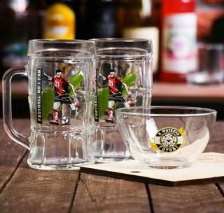 Подарочный набор для пива «К футболу готов» купить в Минске +375447651009