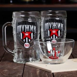 Подарочный набор для пива «Мужиик №1» купить в Минске +375447651009