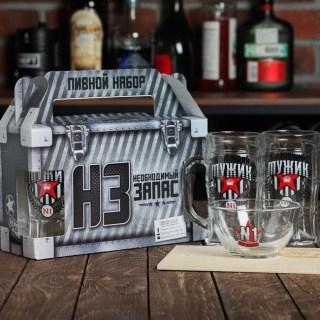 Подарочный набор для пива «Мужик №1» купить в Минске +375447651009