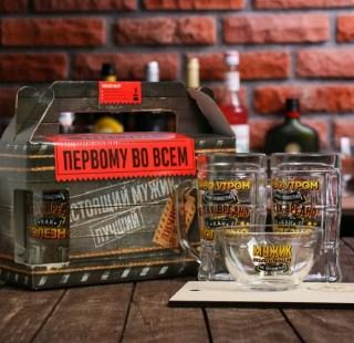 Подарочный набор для пива «Пиво утром-это полезно» купить в Минске +375447651009