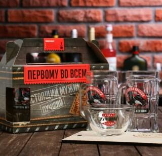 Подарочный набор для пива «Всегда на высоте» купить в Минске +375447651009