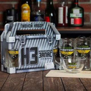 Подарочный набор для пива «Защитник №1» купить в Минске +375447651009