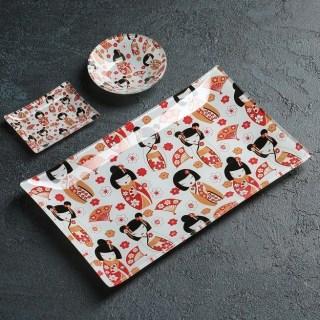 Подарочный набор для суши «Веер» 3 предмета купить Минск +375447651009