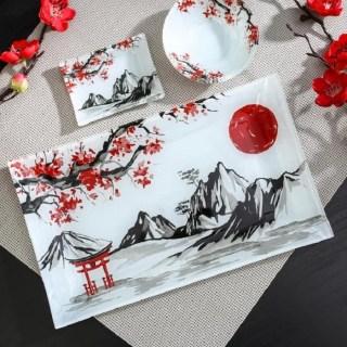 Подарочный набор для суши «Восход солнца» 3 предмета купить в Минске +375447651009