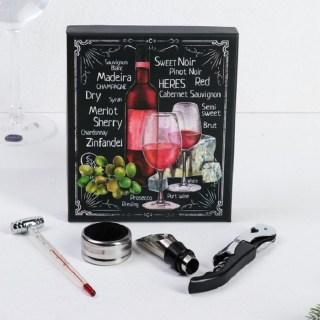 Подарочный набор для вина «Cabernet» 4 предмета купить в Минске +375447651009