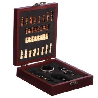 Подарочный набор для вина «Лучший руководитель» с шахматами купить в Минске +375447651009