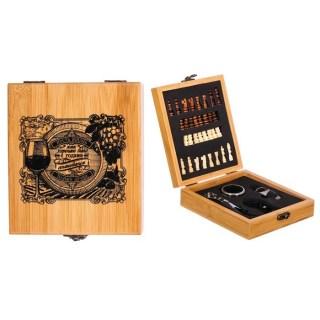 Подарочный набор для вина «Vino» с шахматами купить в Минске +375447651009