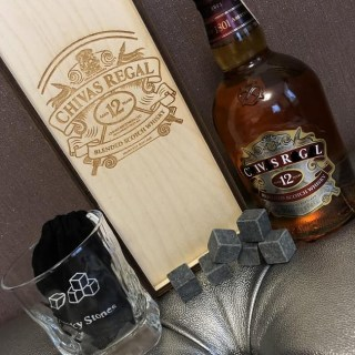 Подарочный набор для виски «Chivas Regal» со стаканом и камнями Минск +375447651009