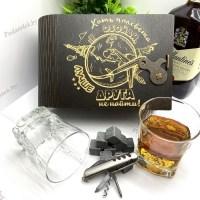 Подарочный набор для виски «Лучший друг» на 2 персоны с мультитулом Минск +375447651009