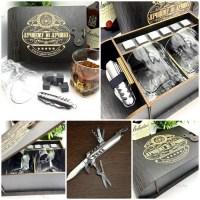 Подарочный набор для виски «Лучший из лучших» на 2 персоны с мультитулом Минск +375447651009