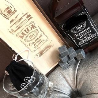 Подарочный набор для виски «МУЖ №1» купить Минск +375447651009